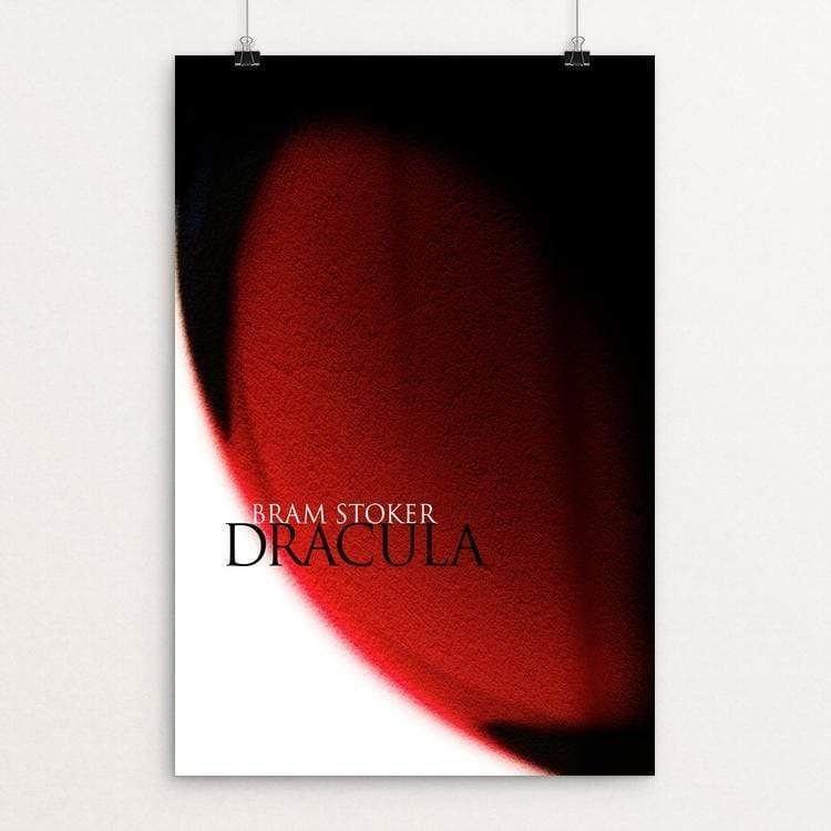 "Dracula by Fernando Horta 12"" by 18"" Print / Unframed Print Recovering the Classics"