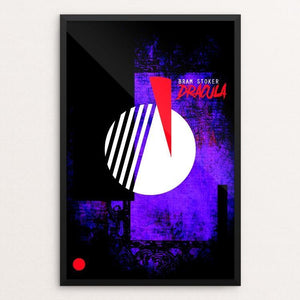 "Dracula by Hunter Armstrong 12"" by 18"" Print / Framed Print Recovering the Classics"