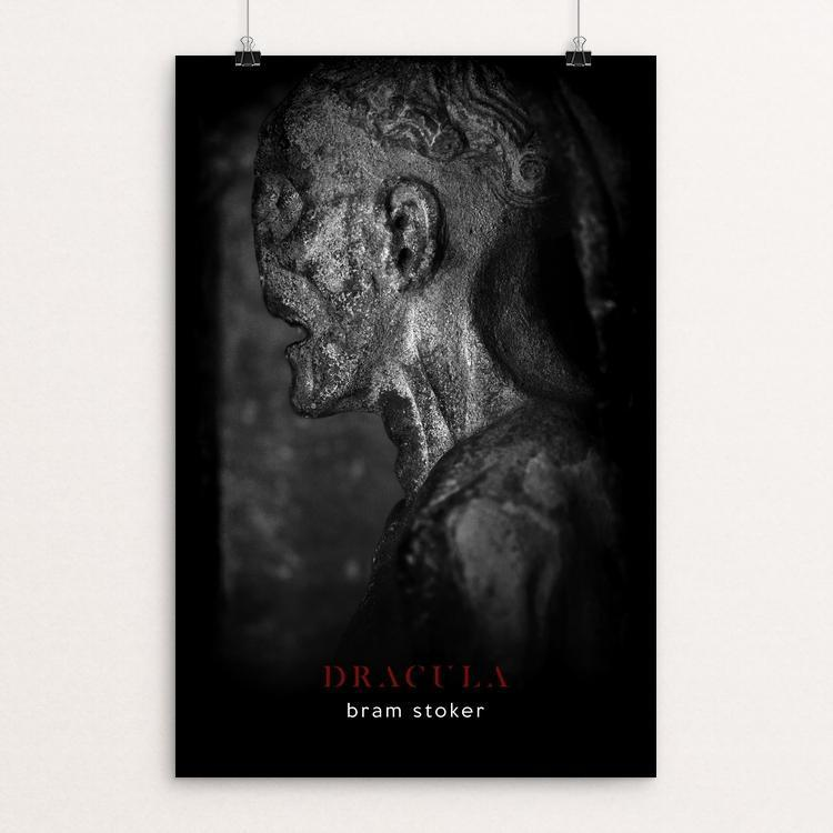 "Dracula by Nick Fairbank 12"" by 18"" Print / Unframed Print Recovering the Classics"