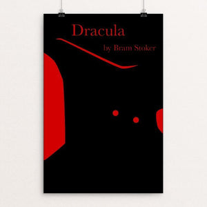 "Dracula by Paul Bond 12"" by 18"" Print / Unframed Print Recovering the Classics"