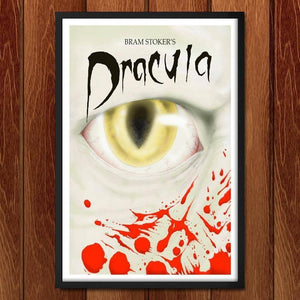 "Dracula by Rene Trujillo 12"" by 18"" Print / Framed Print Recovering the Classics"