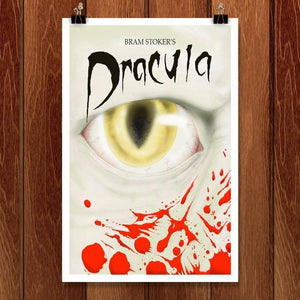 "Dracula by Rene Trujillo 12"" by 18"" Print / Unframed Print Recovering the Classics"