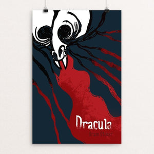 "Dracula by Roberto Lanznaster 12"" by 18"" Print / Unframed Print Recovering the Classics"