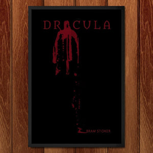 "Dracula by Susuwi Salvador 12"" by 18"" Print / Framed Print Recovering the Classics"