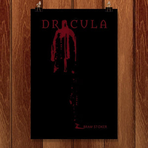 "Dracula by Susuwi Salvador 12"" by 18"" Print / Unframed Print Recovering the Classics"