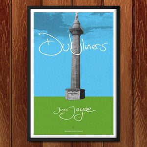 "Dubliners by Dave Hall 12"" by 18"" Print / Framed Print Recovering the Classics"