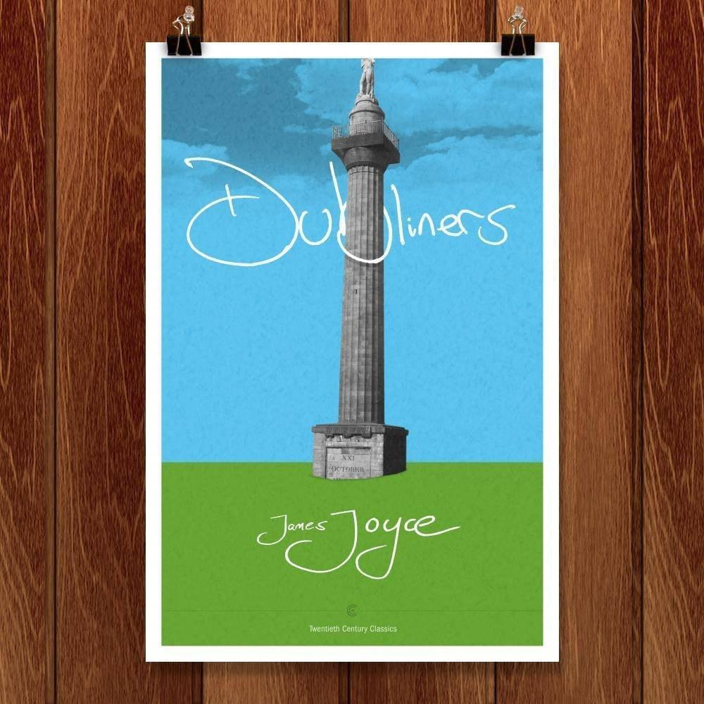 "Dubliners by Dave Hall 12"" by 18"" Print / Unframed Print Recovering the Classics"