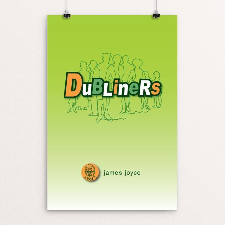 "Dubliners by Robert Wallman 12"" by 18"" Print / Unframed Print Recovering the Classics"