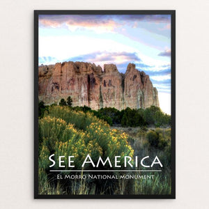 "El Morro National Monument by Teresa Williams 12"" by 16"" Print / Framed Print See America"