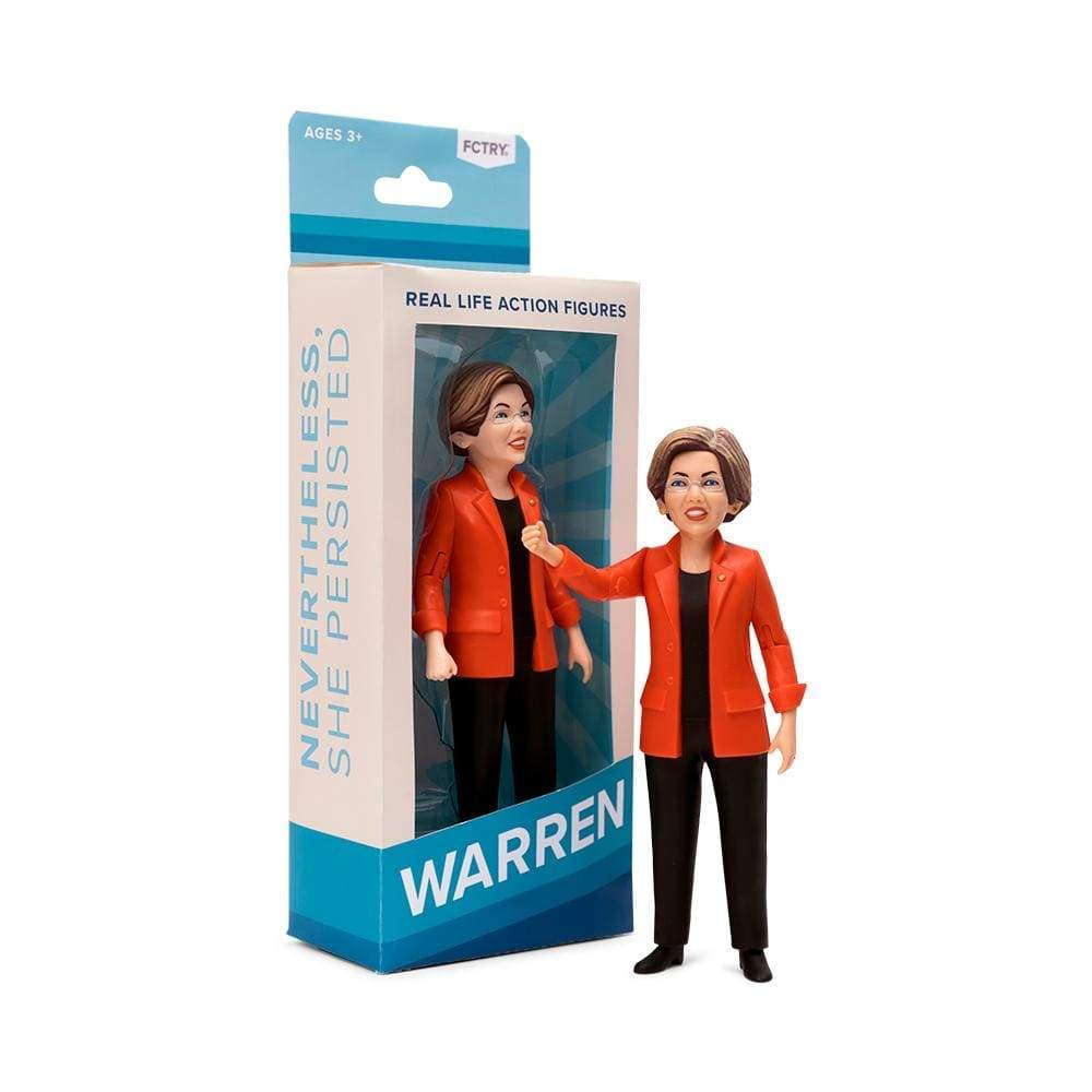 Elizabeth Warren Action Figure by FCTRY Action Figure Creative Action Network