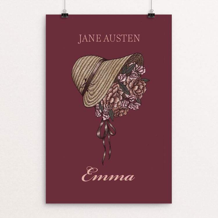 "Emma by Michelle Hubner 12"" by 18"" Print / Unframed Print Recovering the Classics"