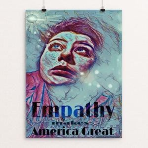 "Empathy by Linda Hinchey 12"" by 16"" Print / Unframed Print What Makes America Great"