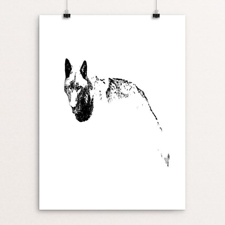 "Endangered by Bryan Bromstrup 18"" by 24"" Print / Unframed Print Join the Pack"