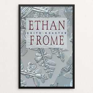 "Ethan Frome by Vivian Chang 12"" by 18"" Print / Framed Print Recovering the Classics"