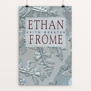"Ethan Frome by Vivian Chang 12"" by 18"" Print / Unframed Print Recovering the Classics"