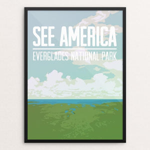 "Everglades National Park by Kjell-Roger Ringstad 12"" by 16"" Print / Framed Print See America"