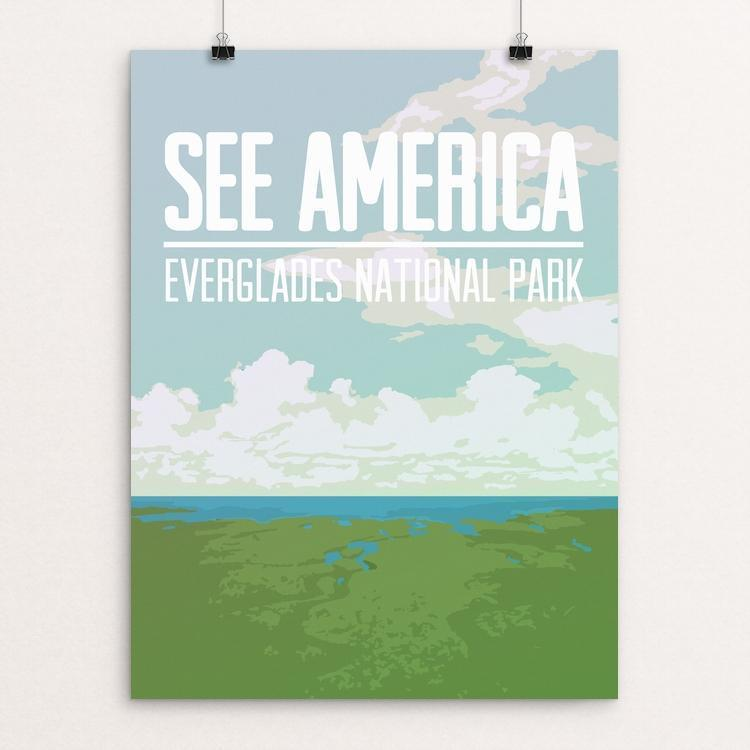 "Everglades National Park by Kjell-Roger Ringstad 12"" by 16"" Print / Unframed Print See America"