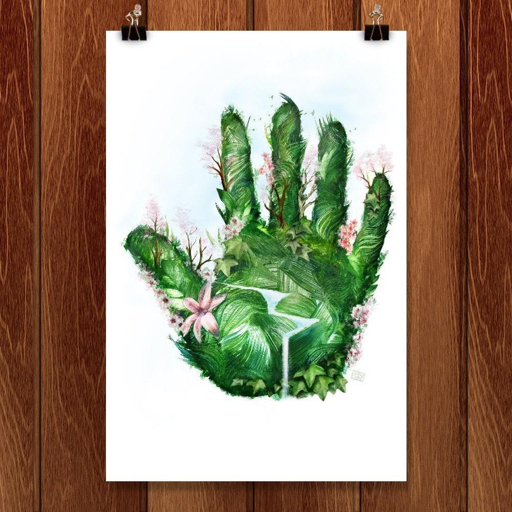 "Every Day is Earth Day by Adam S. Doyle 12"" by 18"" Print / Unframed Print Vote Our Planet"
