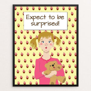 """Expect to be surprised 3"" Illustrated by Lyla Paakkanen"
