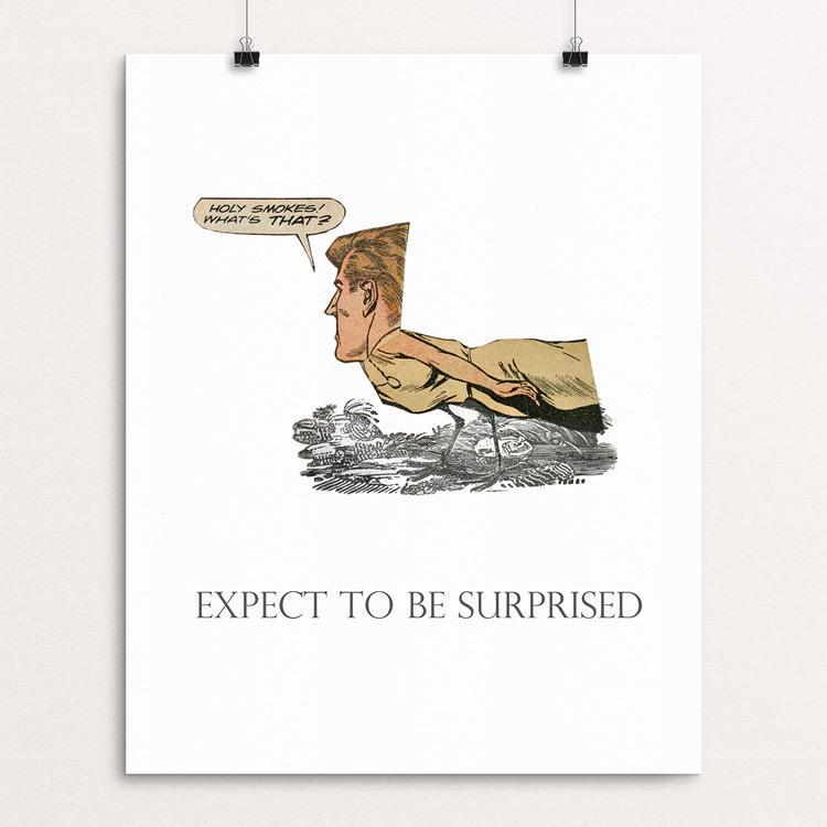 Expect to be surprised. Illustrated by Michael Thompson