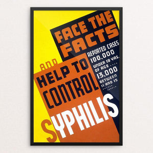 Face the facts and help to control syphilis!