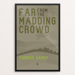"Far From the Madding Crowd' by Ed Gaither 12"" by 18"" Print / Framed Print Recovering the Classics"