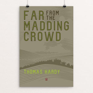 "Far From the Madding Crowd' by Ed Gaither 12"" by 18"" Print / Unframed Print Recovering the Classics"