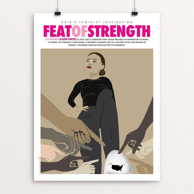 "Feat of Strength by Liza Donovan 12"" by 16"" Print / Unframed Print Creative Action Network"