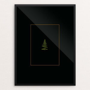 "Fern by Lysa DuCharme 18"" by 24"" Print / Framed Print Creative Action Network"