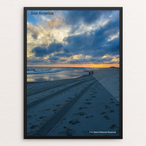 "Fire Island National Seashore 2 by Mac Titmus 12"" by 16"" Print / Framed Print See America"