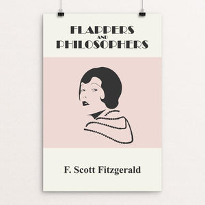 "Flappers and Philosophers by Meredith Watson 12"" by 18"" Print / Unframed Print Recovering the Classics"