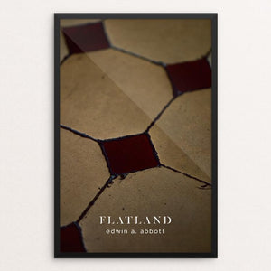 "Flatland by Nick Fairbank 12"" by 18"" Print / Framed Print Recovering the Classics"