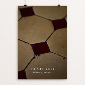 "Flatland by Nick Fairbank 12"" by 18"" Print / Unframed Print Recovering the Classics"