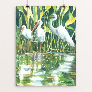 "Florida Everglades by Hannah Ineson 12"" by 16"" Print / Unframed Print Creative Action Network"