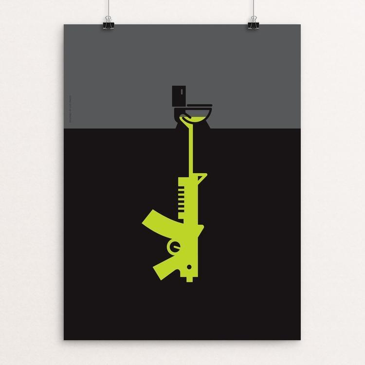 "Flush by Luis Prado 18"" by 24"" Print / Unframed Print The Gun Show"