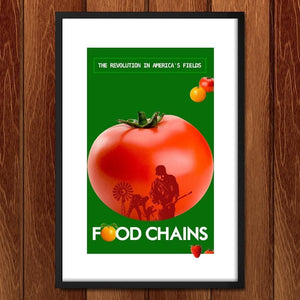 "Food Chains by Bob Rubin 12"" by 18"" Print / Framed Print Food Chains"