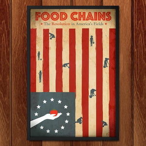 "Food Chains by Philip Vetter 12"" by 18"" Print / Framed Print Food Chains"