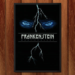 "Frankenstein by Michael Nikola 12"" by 18"" Print / Framed Print Recovering the Classics"