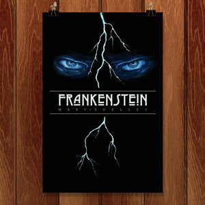 "Frankenstein by Michael Nikola 12"" by 18"" Print / Unframed Print Recovering the Classics"