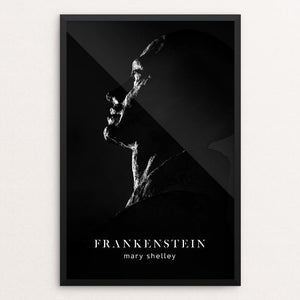 "Frankenstein by Nick Fairbank 12"" by 18"" Print / Framed Print Recovering the Classics"