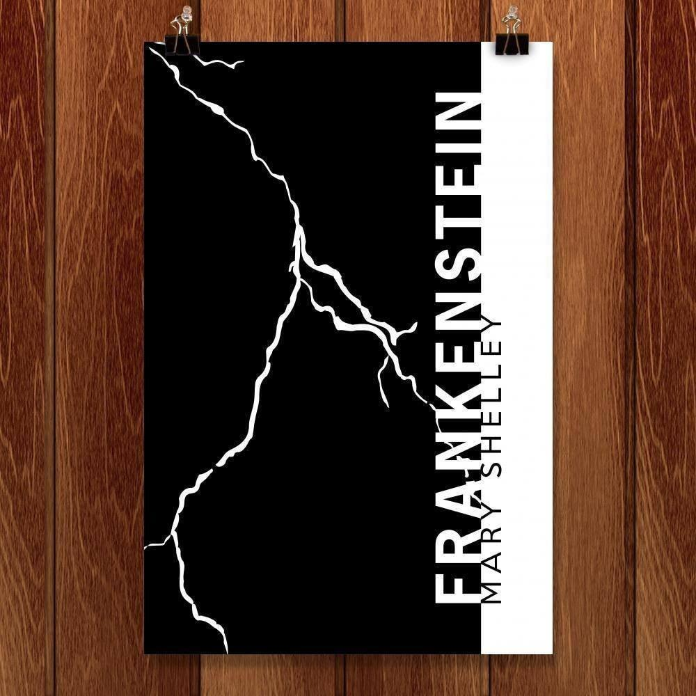 "Frankenstein by Nick Fairbank 12"" by 18"" Print / Unframed Print Recovering the Classics"