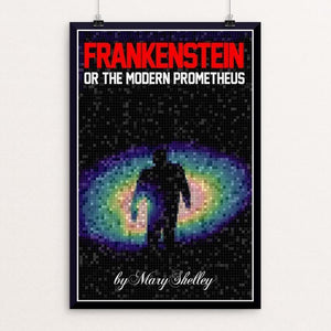 "Frankenstein's Monster 2 by Bob Rubin 12"" by 18"" Print / Unframed Print Recovering the Classics"