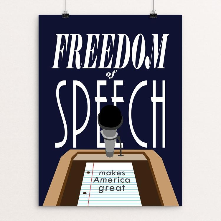 Freedom of Speech by Andrew Martin