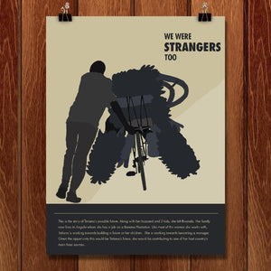 "Future 2 by Claire Bowden 12"" by 16"" Print / Unframed Print We Were Strangers Too"