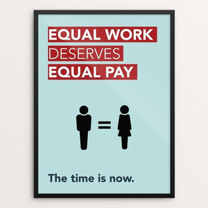 Gender Equality Poster by Laura Wells