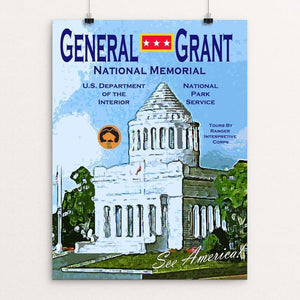 General Grant National Memorial by John Lincoln Hallowell