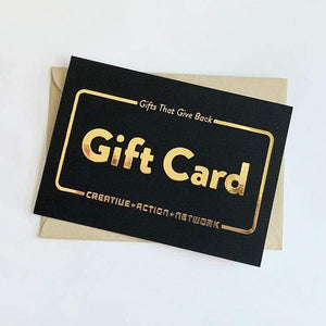 Gift Card Gift Card Creative Action Network