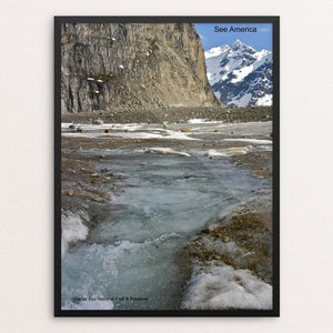 "Glacier Bay National Park and Preserve 2 by Mac Titmus 12"" by 16"" Print / Framed Print See America"