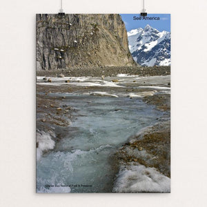 "Glacier Bay National Park and Preserve 2 by Mac Titmus 12"" by 16"" Print / Unframed Print See America"