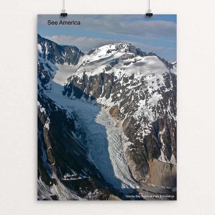 "Glacier Bay National Park and Preserve by Mac Titmus 12"" by 16"" Print / Unframed Print See America"